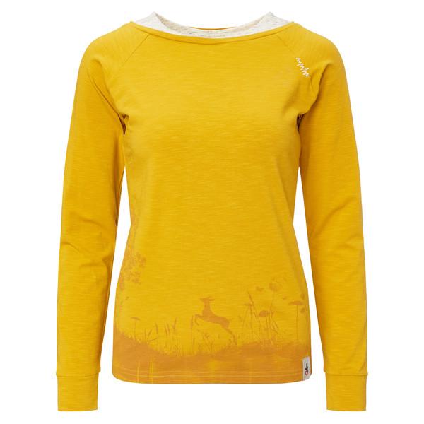 Chillaz LS Serles Wood Frauen - Langarmshirt