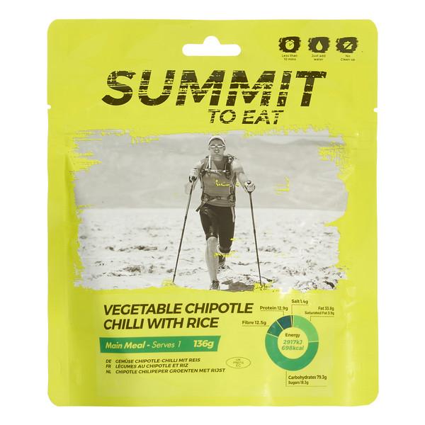Summit to Eat Gemüse Chili Chipotle mit Reis - Outdoor Essen