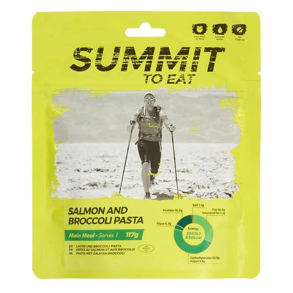 Summit to Eat Lachs & Brokkoli Pasta - Outdoor Essen