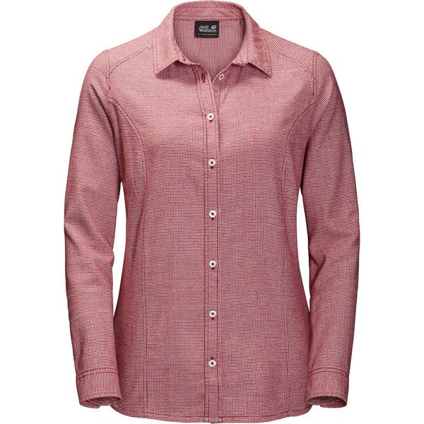 Jack Wolfskin Manitoulin Island Shirt Frauen - Outdoor Bluse