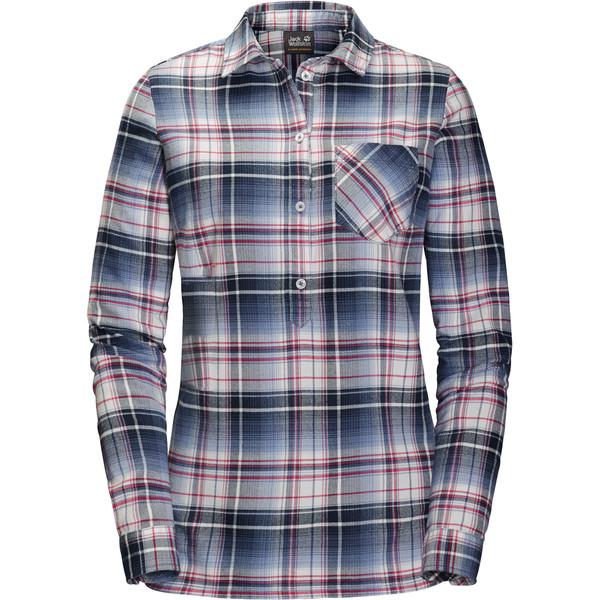 Jack Wolfskin Grange Park Shirt Frauen - Outdoor Bluse