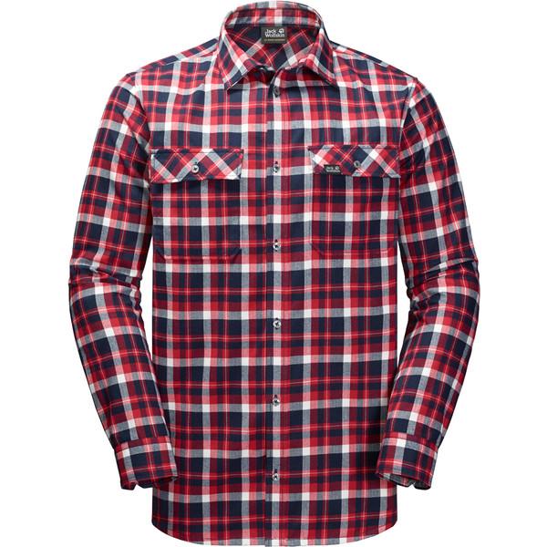 Jack Wolfskin Bow Valley Shirt Männer - Outdoor Hemd