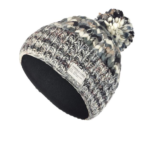 Kusan Uneven Yarn SP Bobble Hat Unisex - Mütze