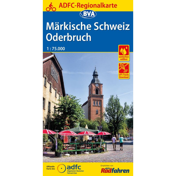 ADFC-Regionalkarte Märkische Schweiz