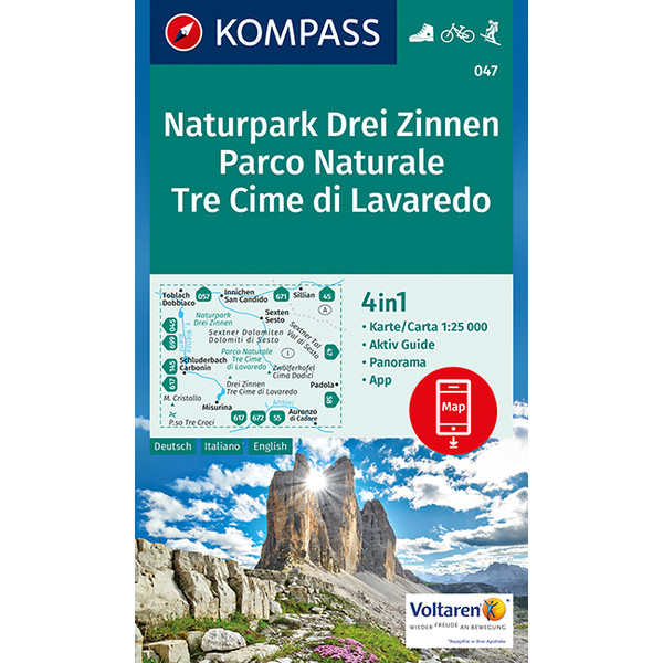 KOKA 047 Naturpark Drei Zinnen