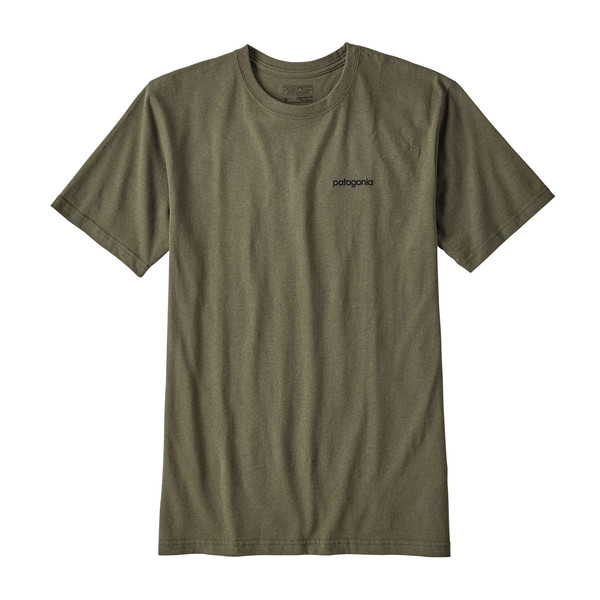Patagonia Line Logo Badge Cotton/Poly Responsibili Männer - T-Shirt