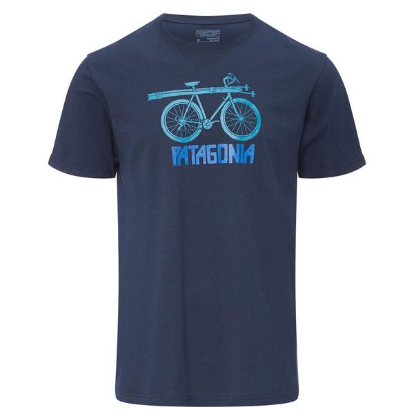 Patagonia Snow Cycle Cotton/Poly Responsibili-Tee Männer - T-Shirt