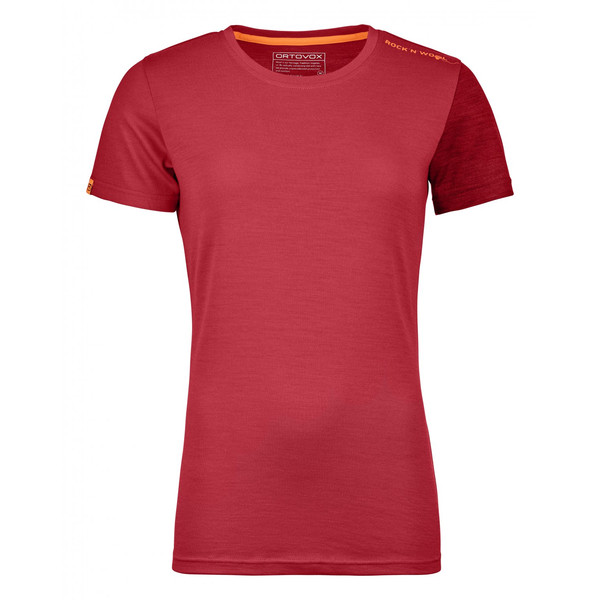 Ortovox 185 Rock'N' Wool Short Sleeve Frauen - Funktionsshirt