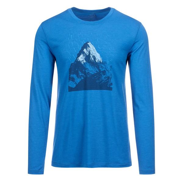 Icebreaker Tech Lite LS Crewe Everest Dawn Männer - Funktionsshirt