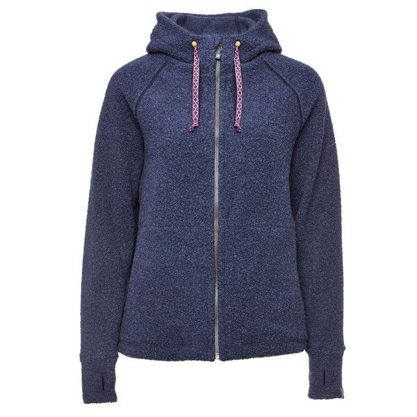 VARG Malo Wool Jersey with Zip Frauen - Wolljacke
