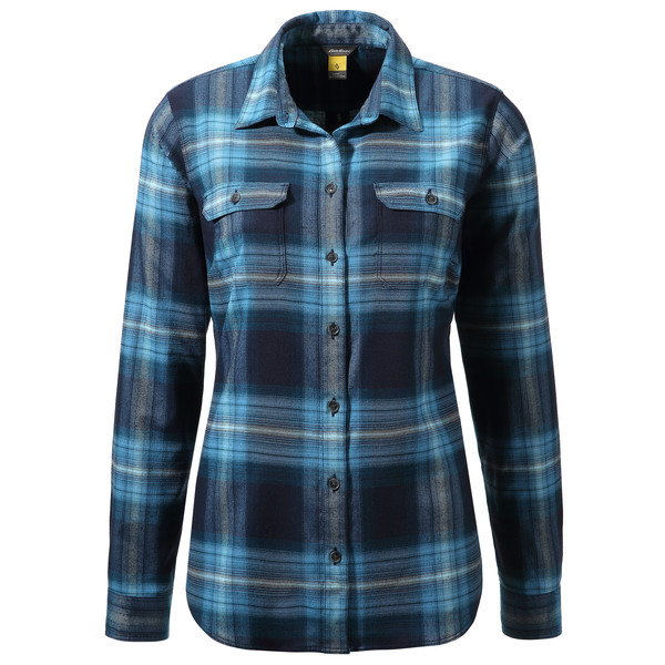 Eddie Bauer Expedition Flanellbluse Frauen - Outdoor Bluse