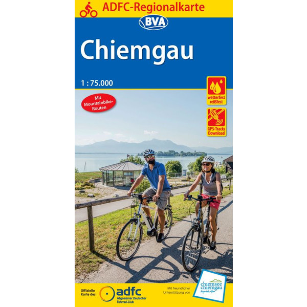 ADFC-Regionalkarte Chiemgau 1:75.000