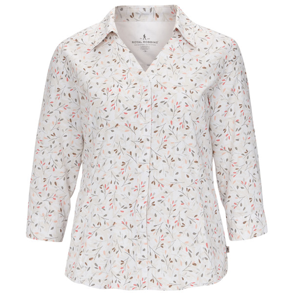 Royal Robbins Expedition Chill Print 3/4 Frauen - Outdoor Bluse