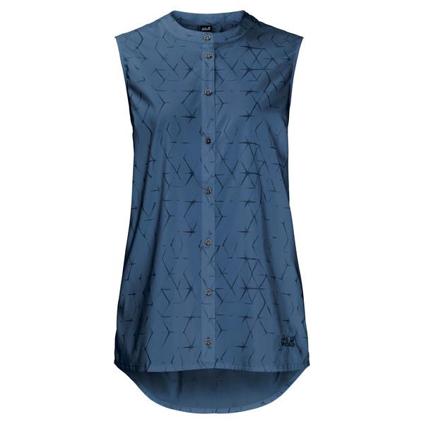 Jack Wolfskin Sonora Shibori Sleeveless Frauen - Outdoor Bluse