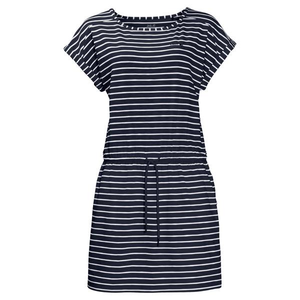 Jack Wolfskin Travel Striped Dress Frauen - Kleid