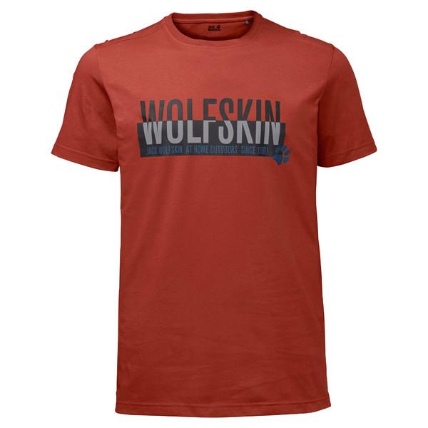 Jack Wolfskin Slogan T Männer - Funktionsshirt