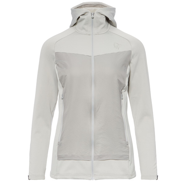 Norröna /29 warm2 stretch Zip Hoodie Frauen - Fleecejacke