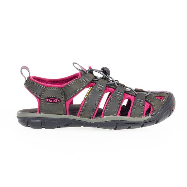 Keen Clearwater CNX Leather Frauen - Outdoor Sandalen