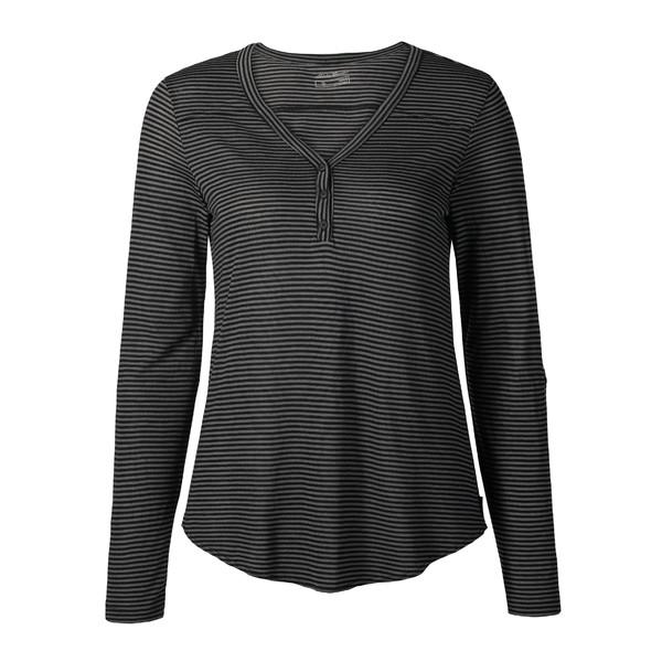 Eddie Bauer Mercer Henleyshirt Striped Frauen - Funktionsshirt
