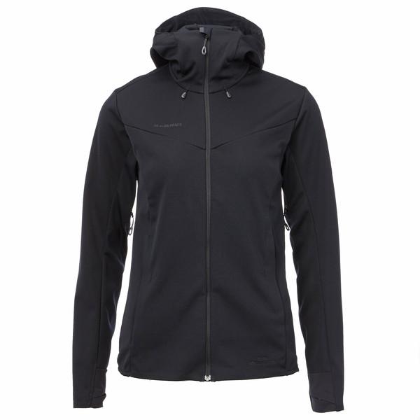 Mammut Ultimate V SO Hooded Jacket Frauen - Softshelljacke