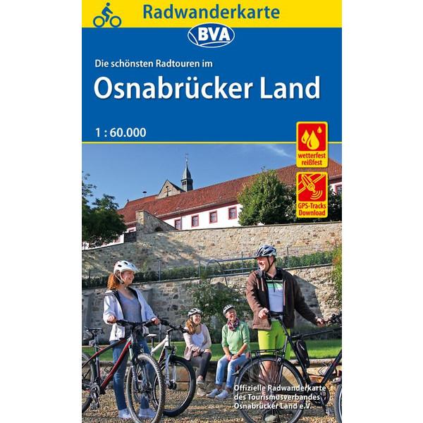 Maggiolina Airtop Radwanderkarte Osnabrücker Land
