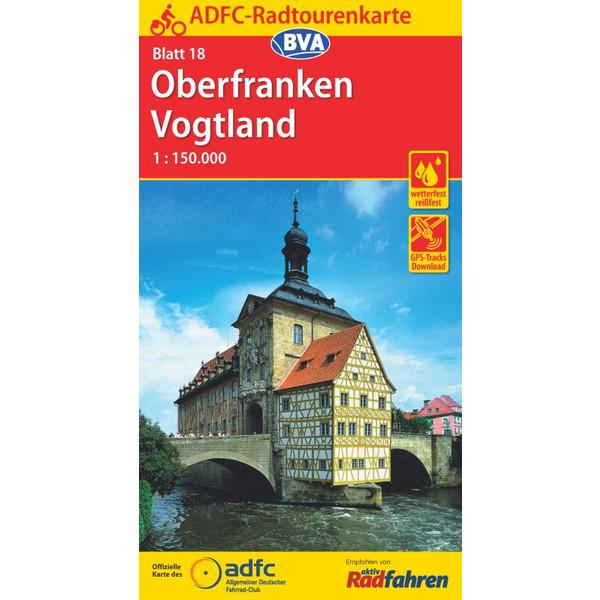 Maggiolina Airtop ADFC-Radtourenkarte 18 Oberfranken