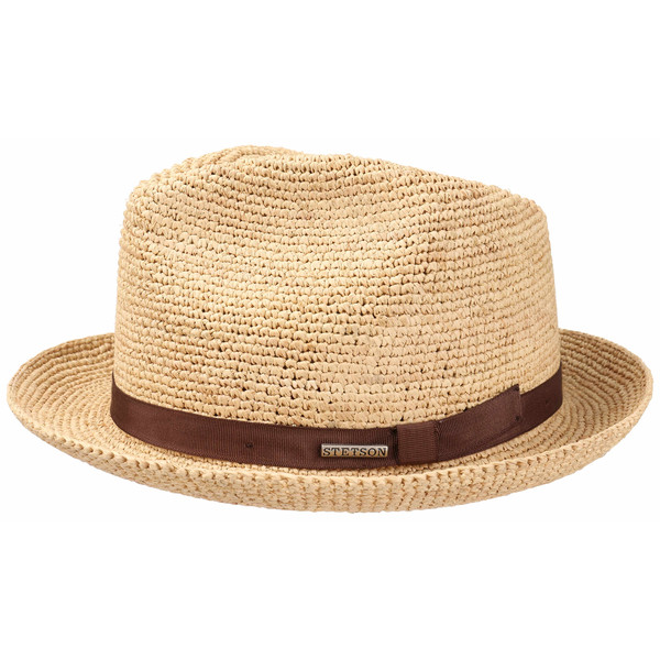 Stetson PLAYER RAFFIA CROCHET Unisex - Hatt