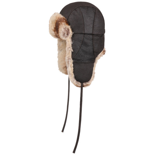 Stetson BOMBER CAP SHRUNKEN PIGSKIN Unisex