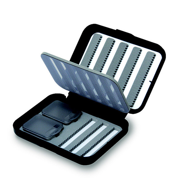 C& F Design SMALL 8-ROW NYMPHING FLY CASE W F.PAGE