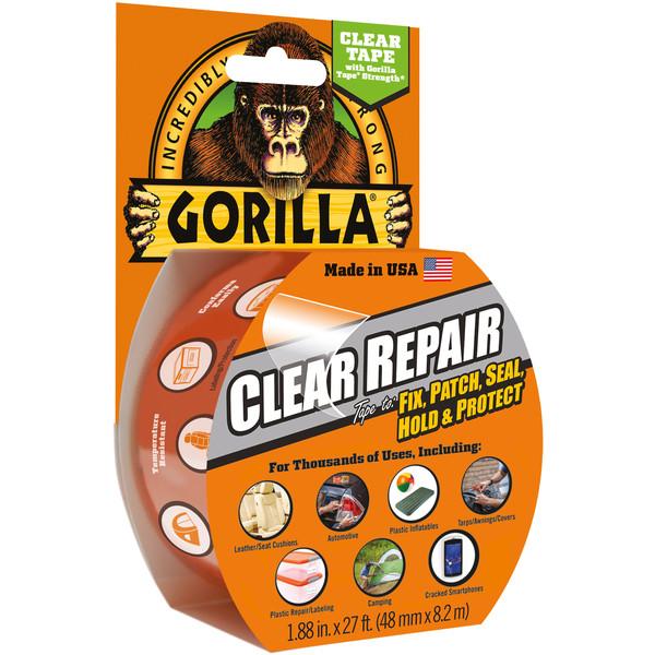 Gorilla GORILLA DUCT TAPE 8,2 CLEAR