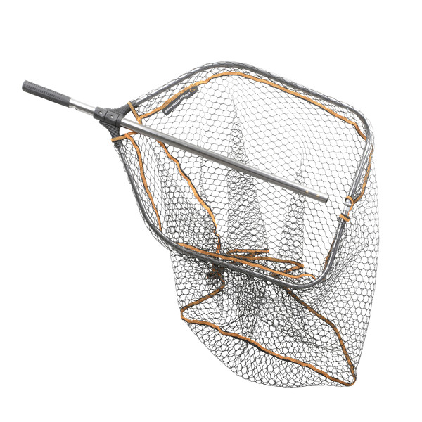 Savage Gear PRO FOLDING RUBBER LARGE MESH LANDING NET XL