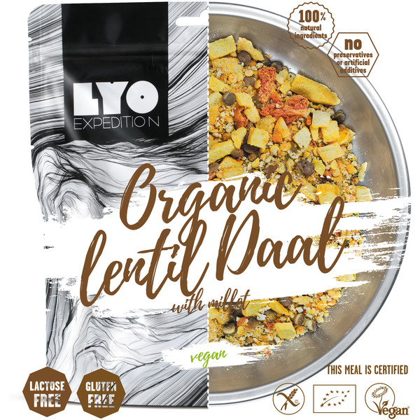 Lyo Expedition ORGANIC LENTIL DAAL WITH MILLET