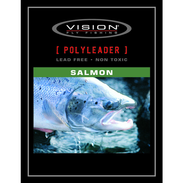 Vision SALMON POLYLEADER 5FT