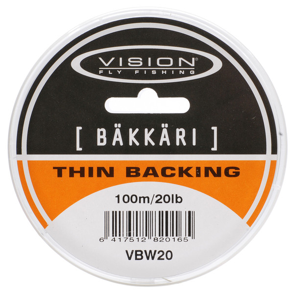 Vision BÄKKÄRI 100M WHITE 20LB