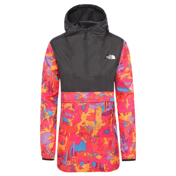 The North Face W PRINTED FANORAK Dam