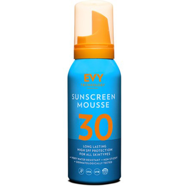 Evy SUNSCREEN MOUSSE 30 TRAVEL SIZE
