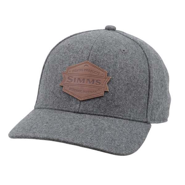 Simms WOOL LEATHER PATCH CAP Unisex