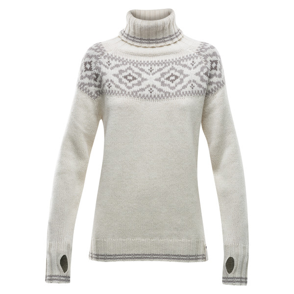Devold ONA WOMAN ROUND SWEATER Dam