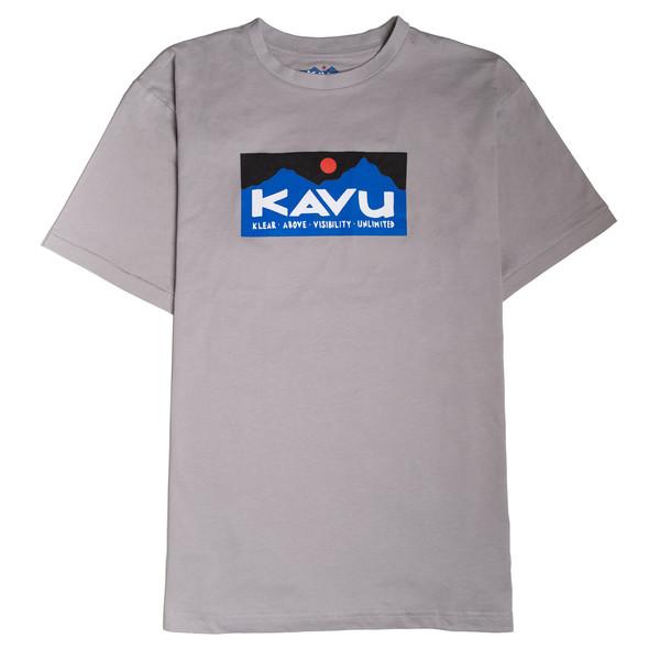 KAVU BASIC LOGO TEE Herr