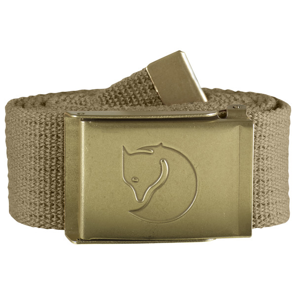 Fjällräven CANVAS BRASS BELT 3 CM. Unisex