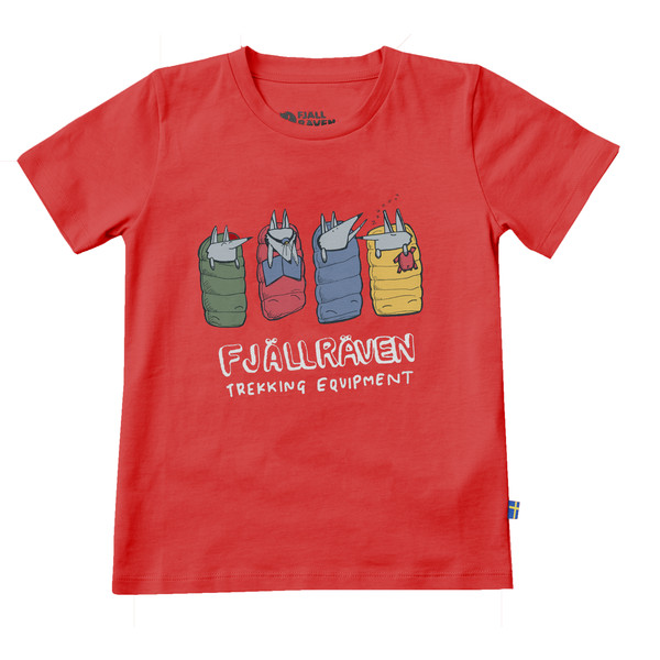 Fjällräven KIDS SLEEPING FOXES T-SHIRT Barn