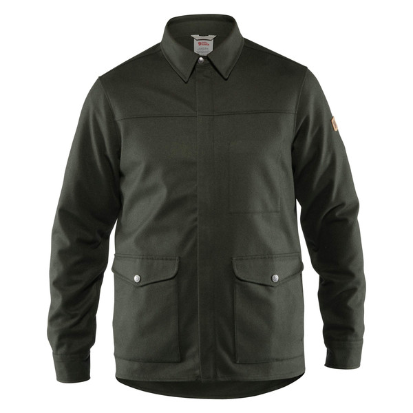 Fjällräven GREENLAND RE-WOOL SHIRT JKT M Herr