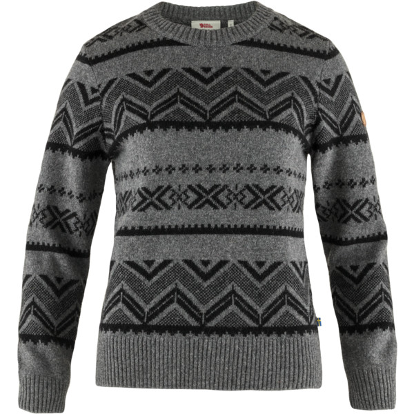 Fjällräven GREENLAND RE-WOOL PATTERN KNIT W Dam