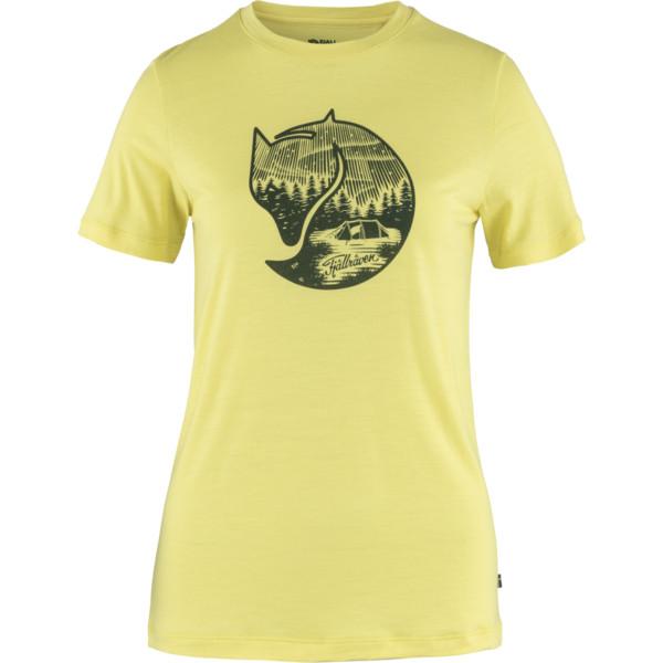 Fjällräven ABISKO WOOL FOX SS W Dam - T-shirt