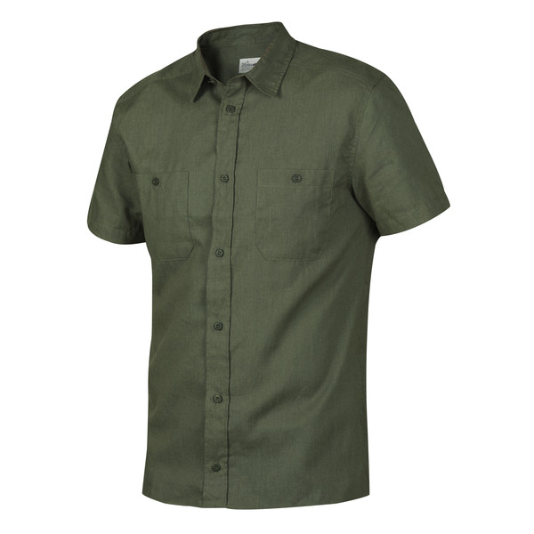 Tierra KAIPARO HEMP SHORT SLEEVE SHIRT M Herr