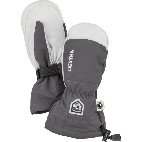 Hestra KIDS ARMY LEATHER HELI SKI MITT Barn