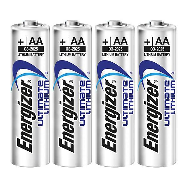 Energizer ULTIMATE LITHIUM FR6/AA  1,5 V - 4 ST