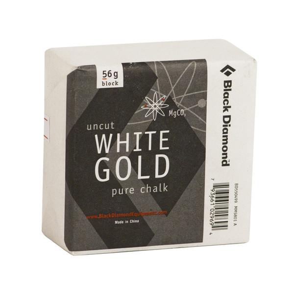 Black Diamond SOLID WHITE GOLD - BLOCK 56gr.