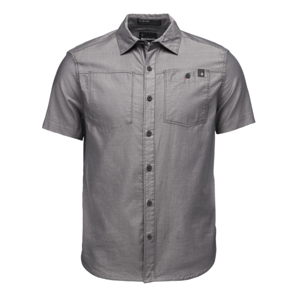 Black Diamond M SS SOLUTION SHIRT Herr