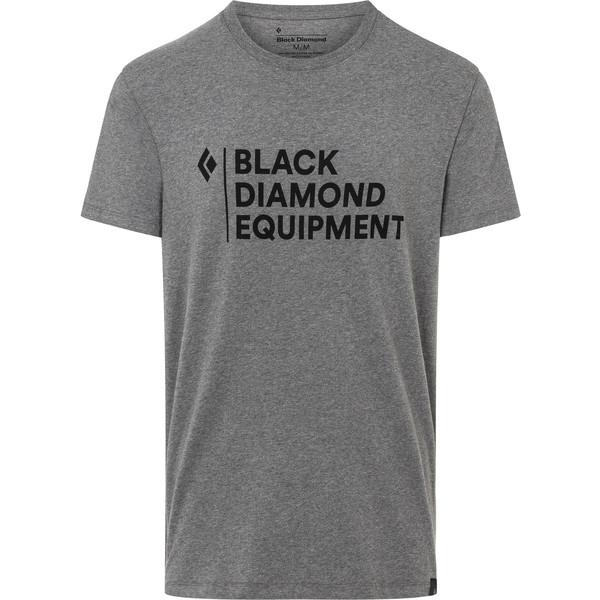 Black Diamond M STACKED LOGO TEE Herr